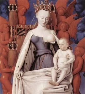 Jean Fouqet: Madonna gyermekkel